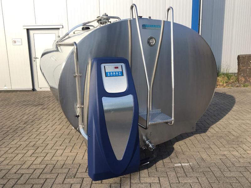 mueller milchtank milchkuehltank O-1500 mit automatischer reinigung