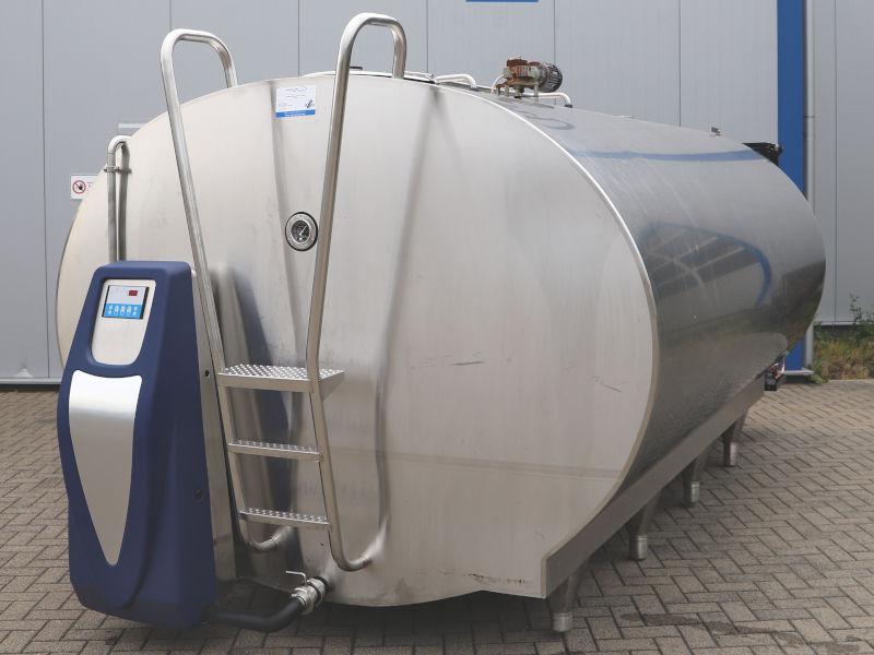 Mueller Milchkühltank O-2250 - 9000 Liter - mit automatischer Tankreinigung