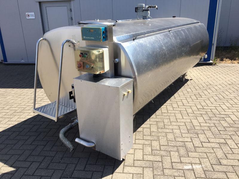 Alfa Laval HCA-N 4000 Liter Milchtank