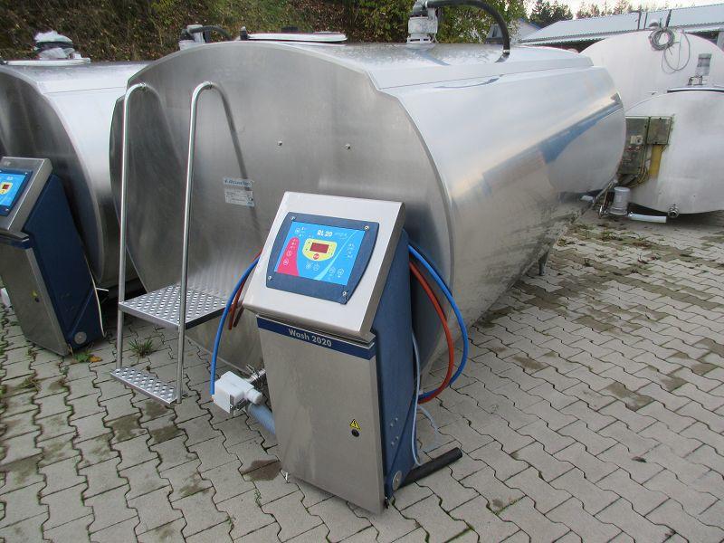 Alfa Laval HCA-N 5000 Liter Milchtank